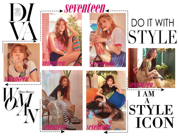 《6mix》Seventeen Magazine Photoshoot
