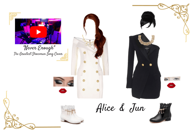 "Dei5 ""Never Enough"" Alice and Jun Song Cover"