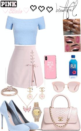 blue💙& pink 💗