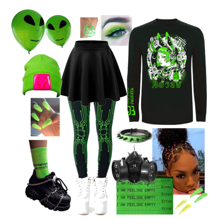 Cyber green lime