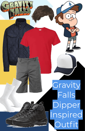 DIPPER Gravity Falls Inspired Outfit