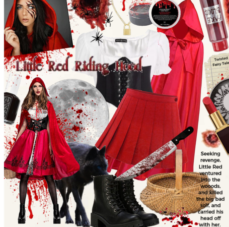 Little red riding hood- twisted tales