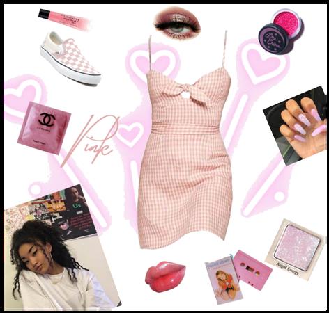 Pink friend casual dressy