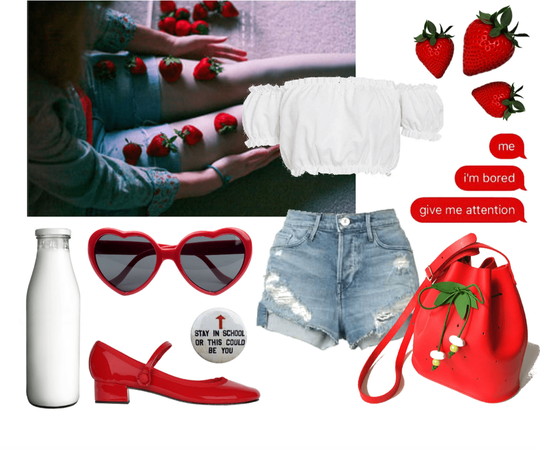 Summer of Strawberries (Lolita Style)