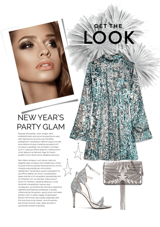 new year's party glam - get the look