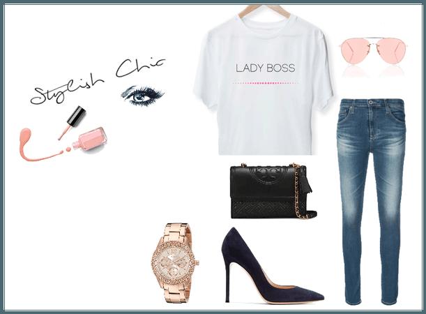 Stylish Chic Lady Boss