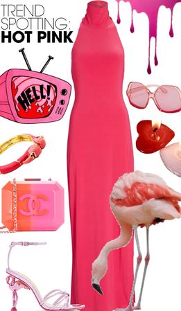 pink hot flamingo 🦩