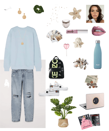 favorite aesthetic outfit💙