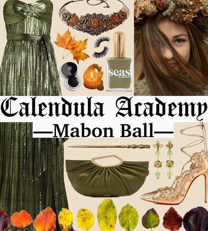CALENDULA ACADEMY: Mabon Ball