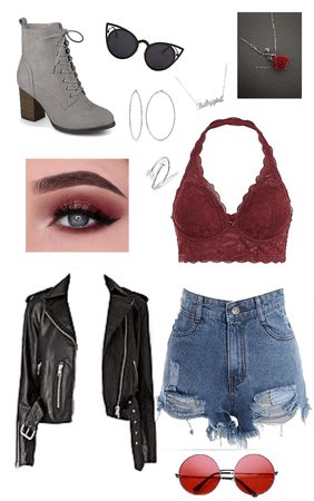 Outfit based of eyeshadow part 1