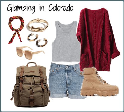 Glamping in Colorado