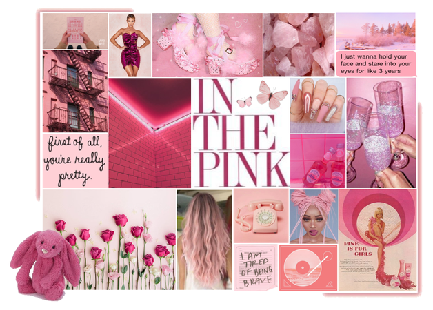 In the pink