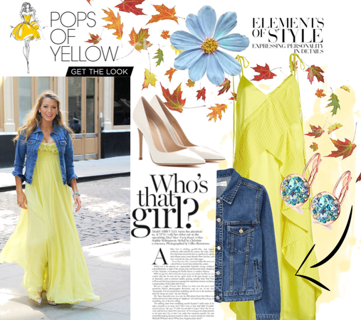 Blake Lively inspired outfit