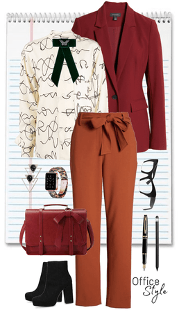 Mature Woman Office Style