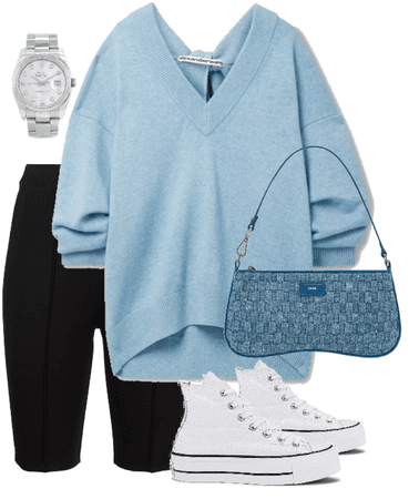 something blue, something casual