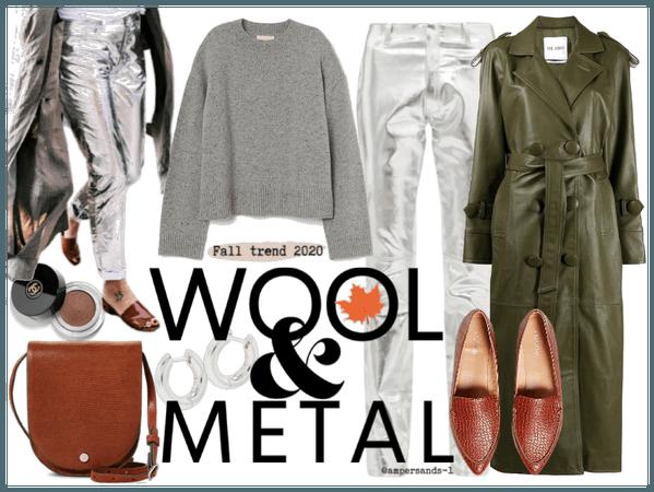 Fall trend 2020: wool & metal