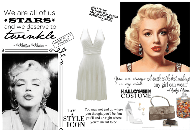 Quick Marilyn Monroe Costume