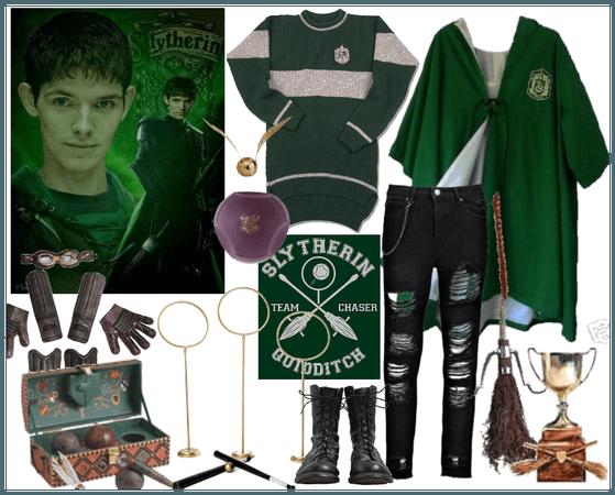 Slytherin Merlin Quidditch