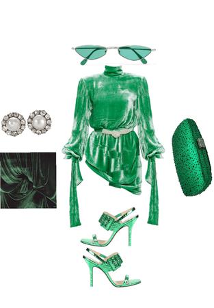 mean green velvet machine