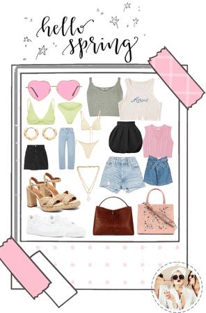 girly & glam || spring break