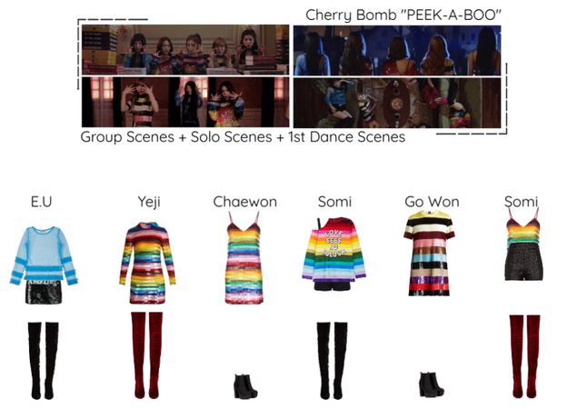 "Cherry Bomb - ""PEEK-A-BOO"" M/V Scenes"