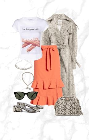 my Orange Skirt