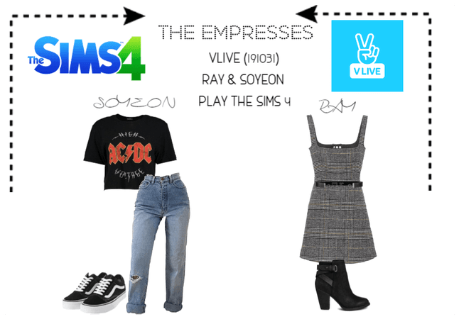 [THE EMPRESSES] RAY & SOYEON PLAY THE SIMS4