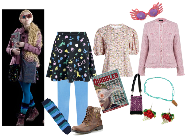 Luna Lovegood Inspired Out