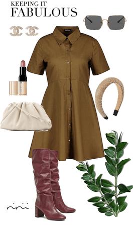 stylish outfit.