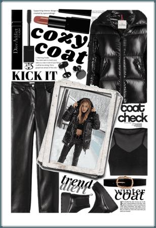WINTER COAT: coat check 🖤