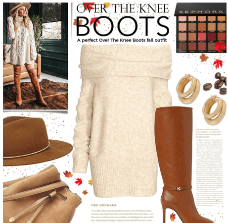 The perfect knee boot outfit