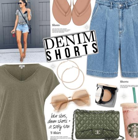 Denim shorts #3