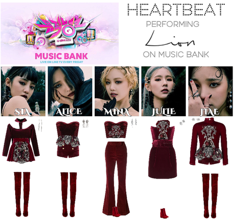 [HEARTBEAT] MUSIC BANK 200501 STAGE | 'LION'