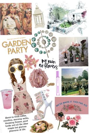 vip garden show party 🎉 xox