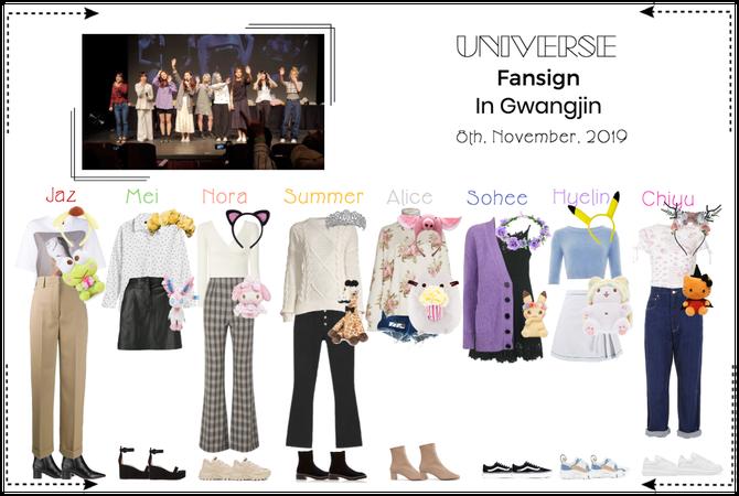 """UNIVERSE Gwangjin Fansign """"La Vie En Rose"""" Era"""