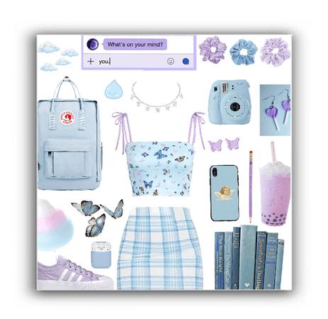 Blue + purple 💜💙🦋