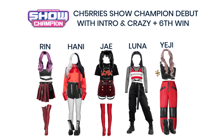 [CH5RRIES] Show Champion Debut