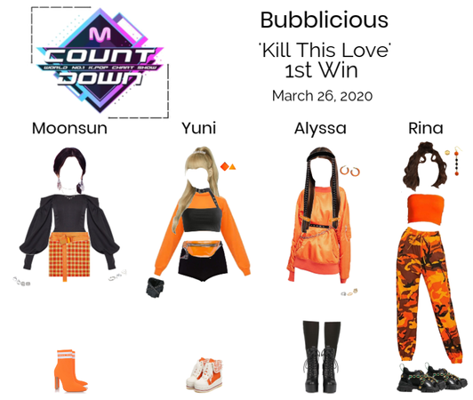 Bubblicious (신기한) 'Kill This Love' 1st Win