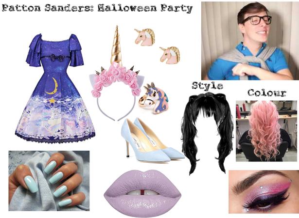Patton Sanders: Halloween Party