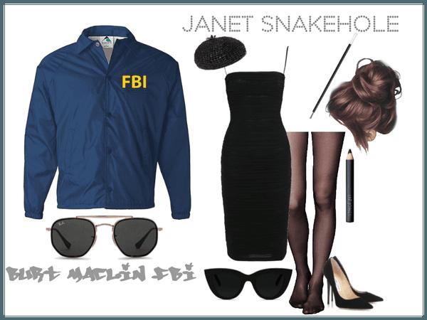 Burt Maclin, FBI, and Janet Snakehole