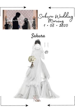 Sakura Wedding - Morning Dress