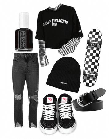 Casual: Skater girl