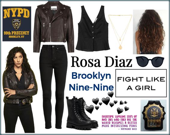 Rosa Diaz   #brooklynninenine   @hunterofartemis