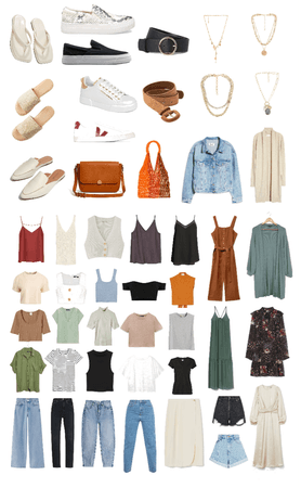 cápsule wardrobe