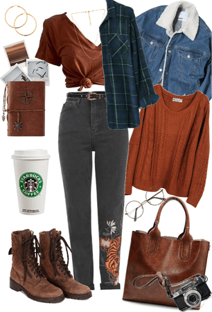 cozy layers and the perfect coffee