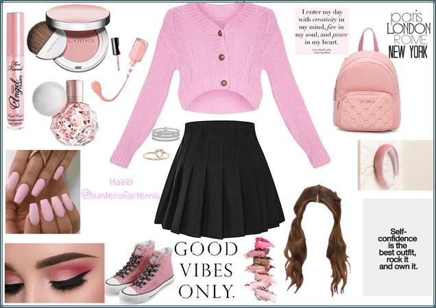 Pink!Pink!Pink! | Hazel @hunterofartemis