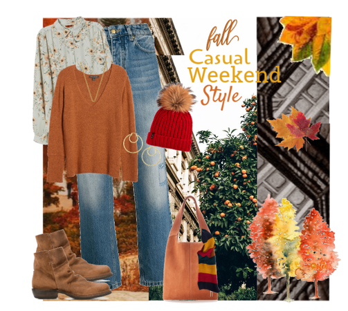 Fall Casual Weekend Style