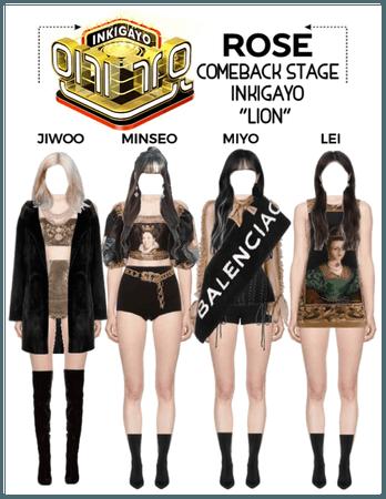 """{RoSE} """"Lion"""" Comeback Stage"""
