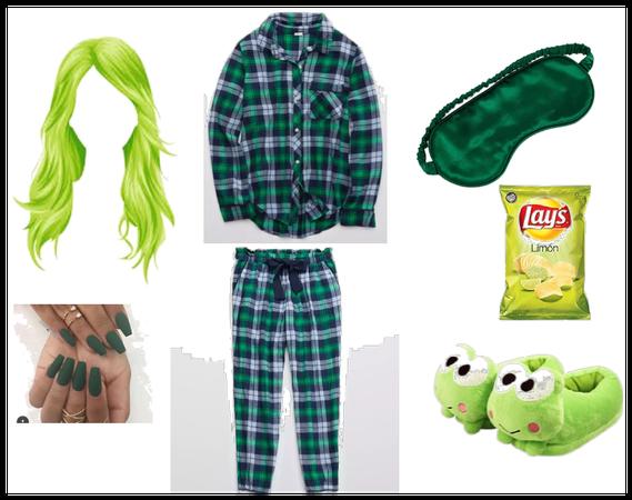 color of the rainbow sleepwear pajama #4