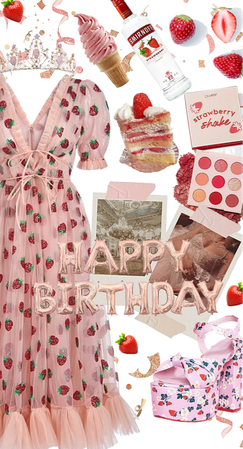 Birthday Outfit: The Strawberry Dress
